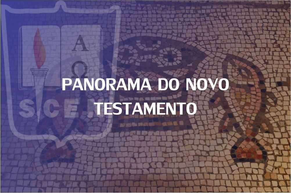 PANORAMA DO NOVO TESTAMENTO - 1 SEM - 2020